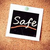 Güvenli — Stok fotoğraf