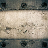 Old dirty metal sheet — Stock Photo