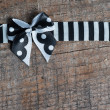 Ribbon with a bow — Stock Photo