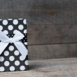 Gift box with bow — Photo