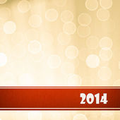 2014 New Year Background — Stock Photo