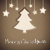 Merry Christmas Tree — Stock Photo
