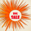 Big sale over — Stok fotoğraf