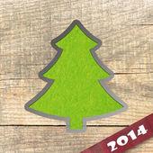 2014 New Year's greeting card — Zdjęcie stockowe