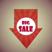 Big sale — Stock Photo