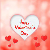 St. Valentine's Day — Stock Photo