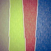 Colored grunge paper texture — Stock Photo