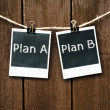 plan een of plan b — Stockfoto #37009801