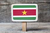 Suriname flag — Stock Photo