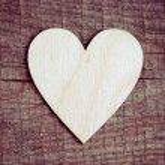 Paper heart — Stock Photo