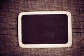 Small wooden framed blackboard — Stock Photo