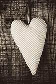 Cloth Heart — Stock Photo