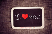 I Love Heart You — Stock Photo