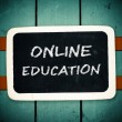 Online education — Stock Photo