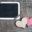 Heart on small blackboard — Stock Photo #37986829