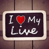 λατρεύω μου ζωντανή — Φωτογραφία Αρχείου