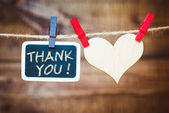"""Thank You"" — Stockfoto"