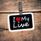 I love my live — Photo