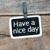 Nice day ! — Stock Photo