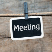 Meeting! — Stock Photo
