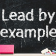 """Lead by example"" — Stock Photo #38520101"
