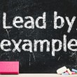 """""""Lead by example"""" — Stock Photo"""