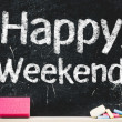 Stock Photo: Happy Weekend