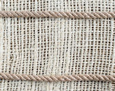 Rope on Canvas — Stock Photo
