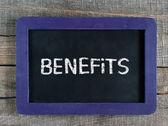 Benefits — Stock Photo
