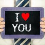 I LOVE YOU — Stock Photo #38933041