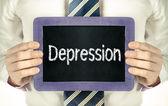 Depression — Stockfoto