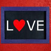 Liefde teken — Stockfoto