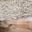 Wood texture with carpet — Stock Photo #39095339