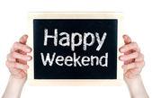 Happy Weekend — Stock Photo