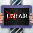 Unfair-fair — Stock Photo #39404283