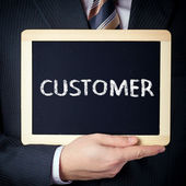 Customer — Stock Photo