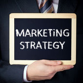 Marketing Strategy — Stock Photo