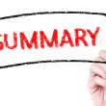 Summary — Stock Photo #40249175