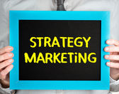 Comercialización de estrategia — Foto de Stock