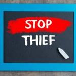 Stop thief — Stock Photo