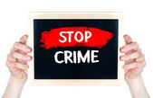 Stop Crime — Stock Photo