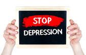 Stop Depression — Stock Photo