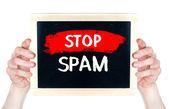 Stop spam — Stock Photo