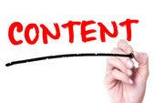 Content — Fotografia Stock