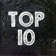 Top ten. — Stock Photo