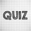 Stock Photo: Quiz