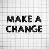 Make a Change — Stock Photo