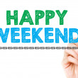 Happy weekend — Foto de Stock