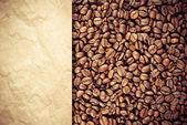 Vintage coffee background — Stock Photo