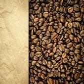 Vintage kaffe bakgrund — Stockfoto